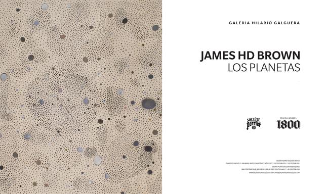 Invitación James Brown House-planets