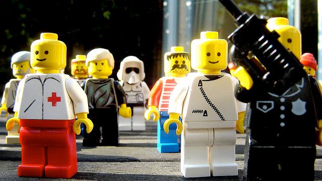 Los Legos clásicos.