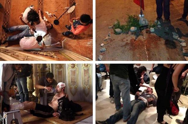 heridos turquia