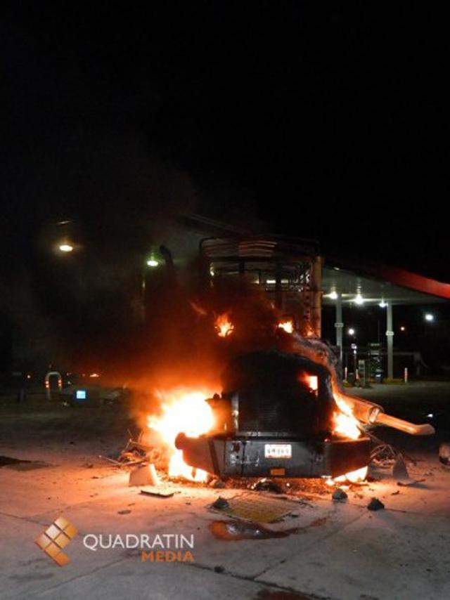 incendio gasolinera uruapan michoacan