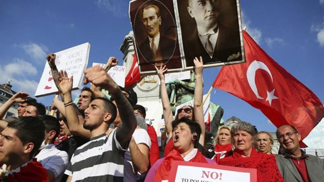 protestas turquia lacrimogeno