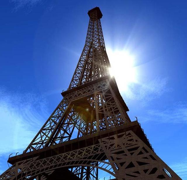 El homenaje de la torre eiffel a nelson mandela for Quien hizo la torre eiffel