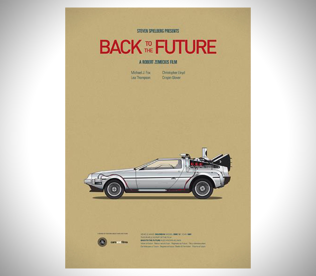 Iconic-Cars-and-Films-Posters-2