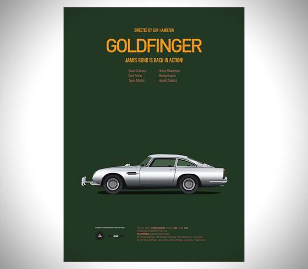 Iconic-Cars-and-Films-Posters-8