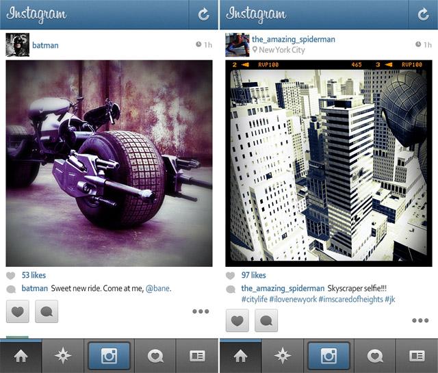 Superheroes-Instagram