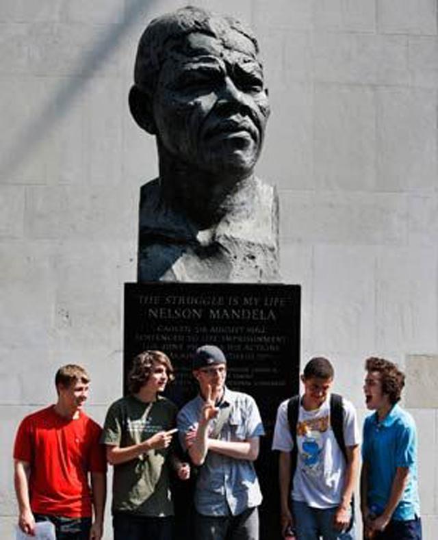Britain South Africa Mandela