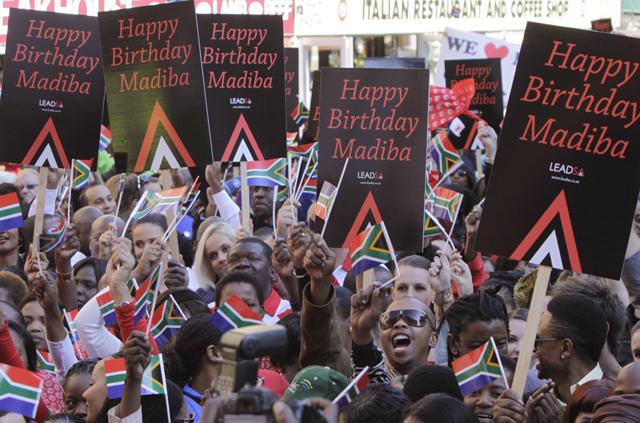 South Africa Mandela Birthday
