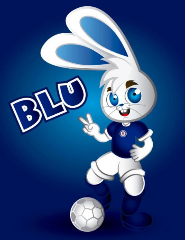 mascota cruz azul