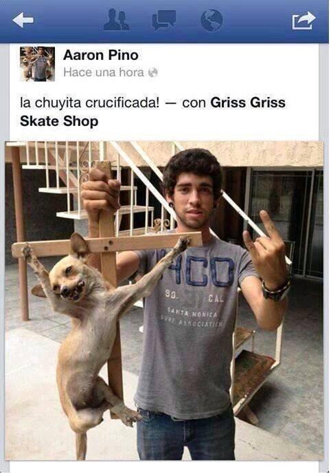 Aaron-Pino-Chuyita-crucificada