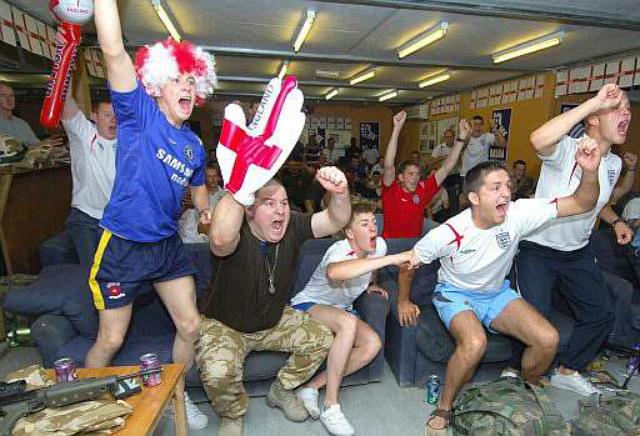aficionados ingleses