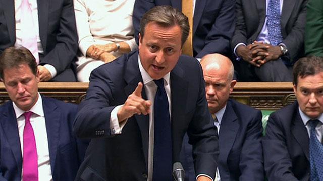 cameron inglaterra parlamento ataque siria