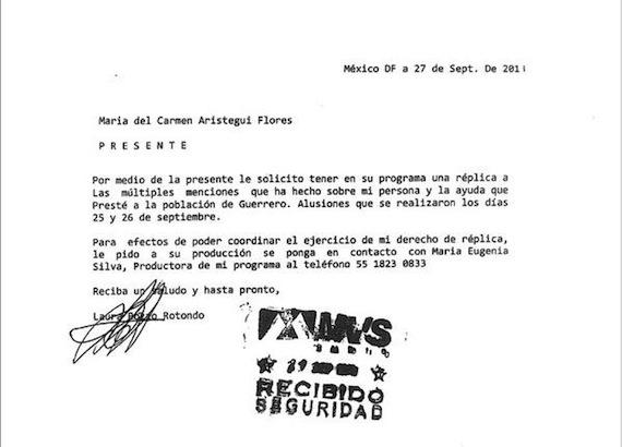 carta laura-aristegui