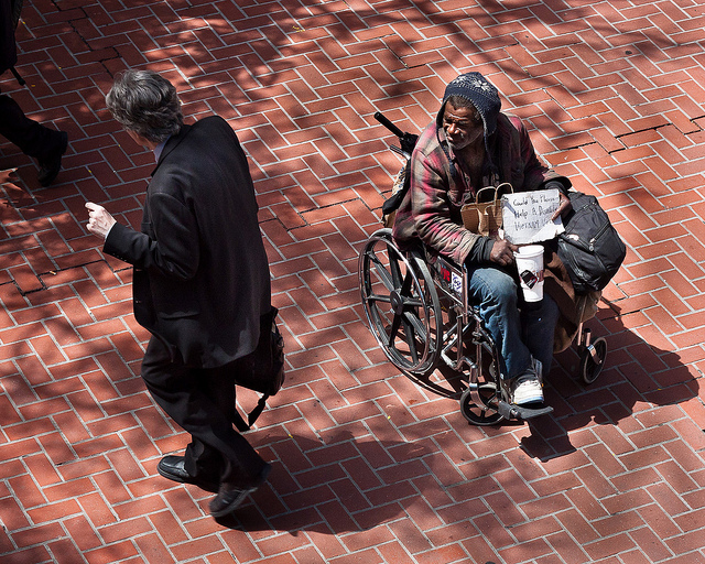 The Homeless Veteran and the Businessman