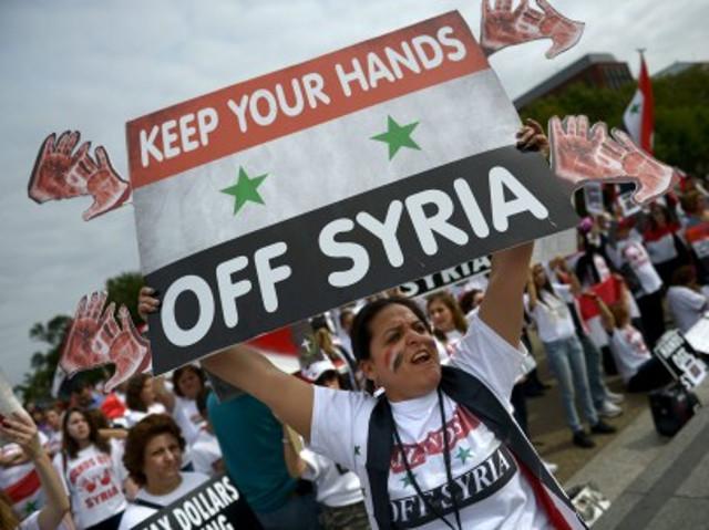 protestas siria