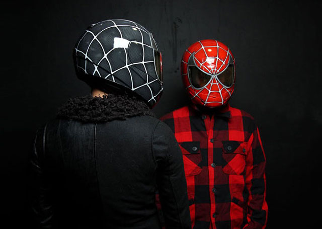 spiderman casco