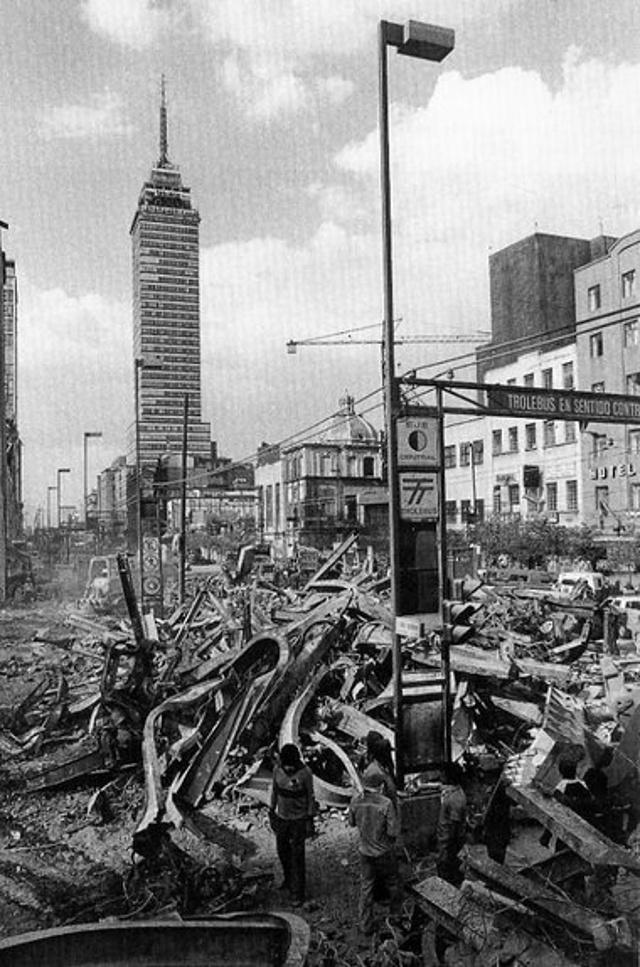 terremoto ciudad de mexico 1985