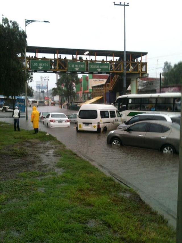 zaragoza se inunda