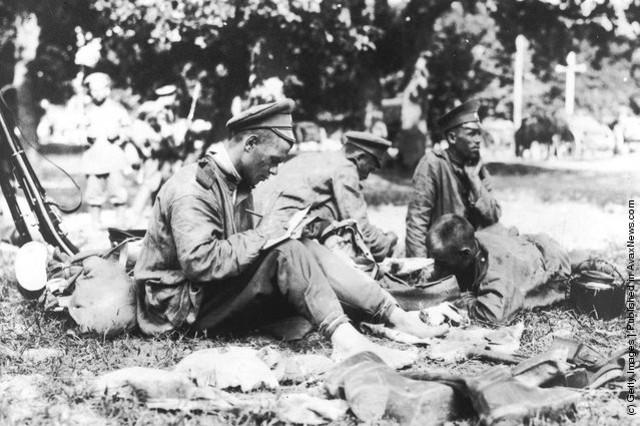 soldado escribe carta de amor segunda guerra mundial