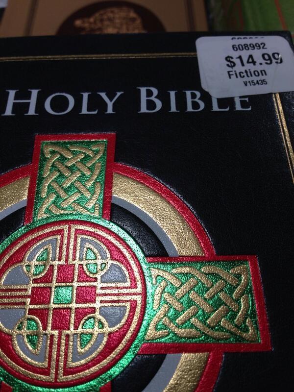 biblia ficcion