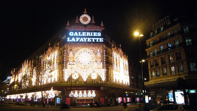 paris shoping