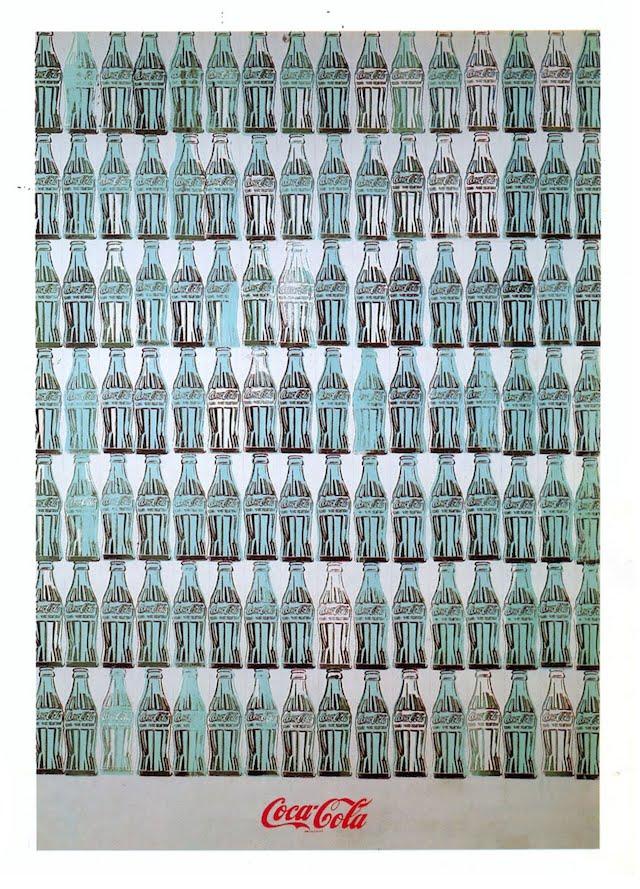 andy warhol green coca cola bottles 1962