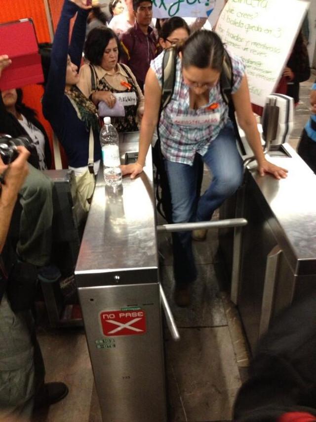 metro #posmesalto