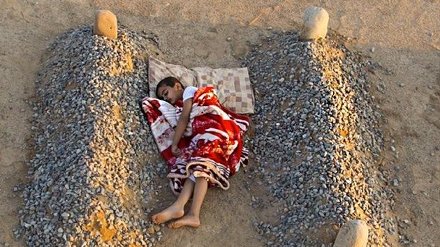 niño sirio tumbas
