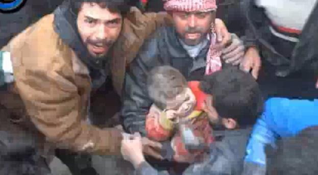 siria niño rescate