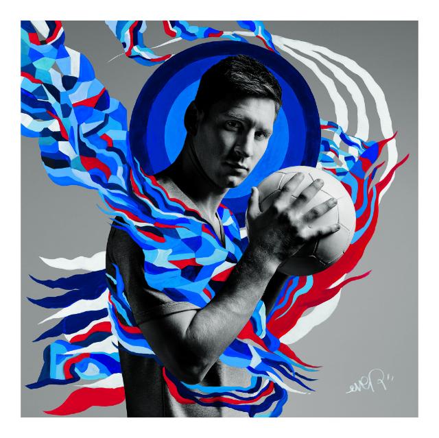 Arte Pepsi Messi
