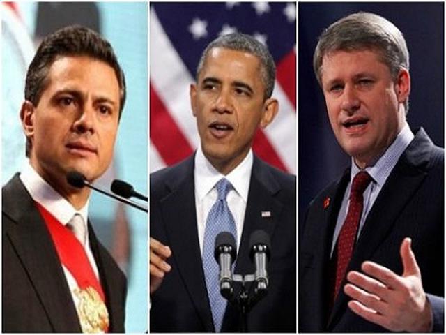 Peña-Nieto-Obama-Harper