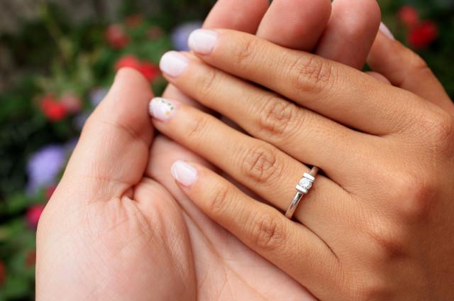 Cu nto deber as gastar en un anillo de compromiso for En que mano se usa el anillo de compromiso