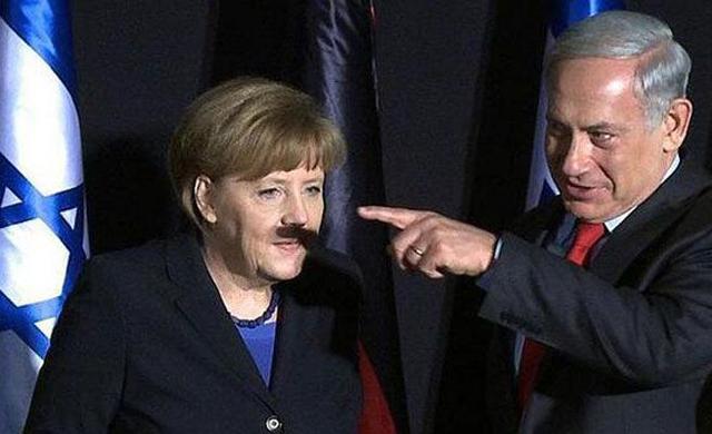 merkel_bigote