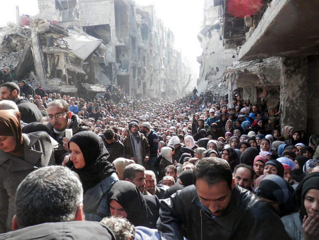 palestinos damasco