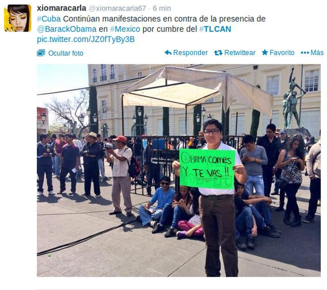 protestas toluca obama