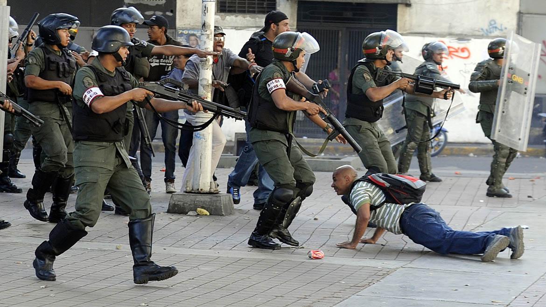 VENEZUELA-DEMO-VIOLENCE
