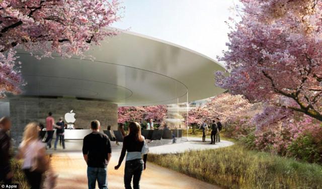 Revelan m s detalles sobre las nuevas oficinas de apple for Oficinas de apple