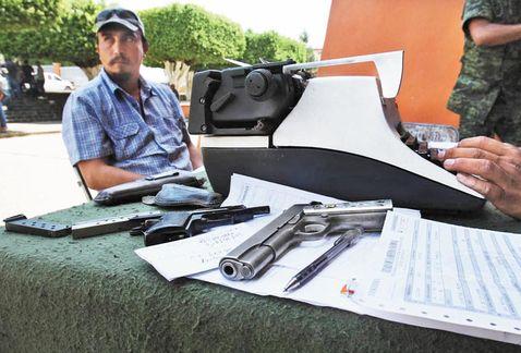 desarme autodefensas