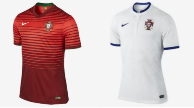 jerseys portugal