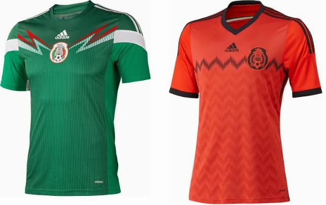 5fa76b3f44bef Estos son los 64 uniformes que veremos en Brasil 2014