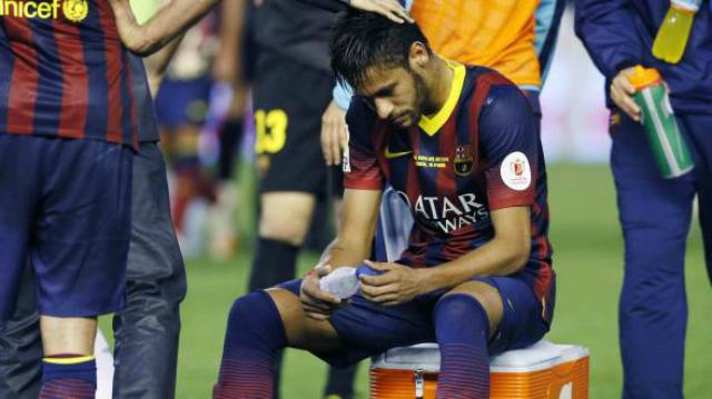 neymar lesionado