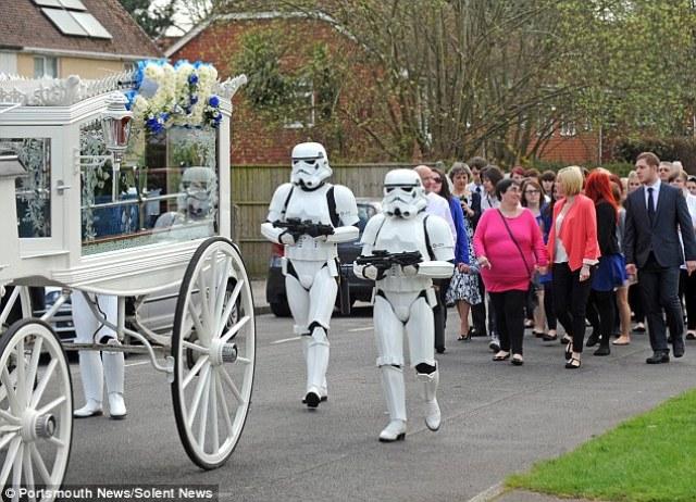 star wars funeral