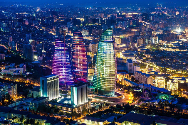 Baku-Flame-Towers-Azerbaijan