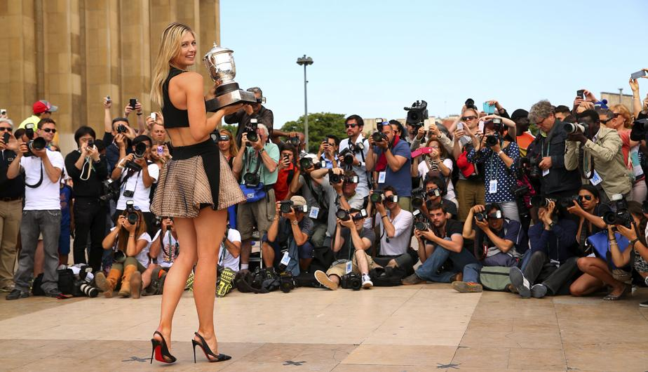 sharapova paris5