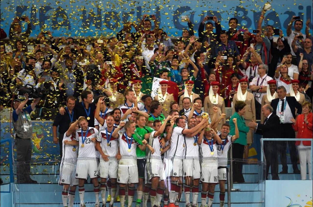 alemania campeon