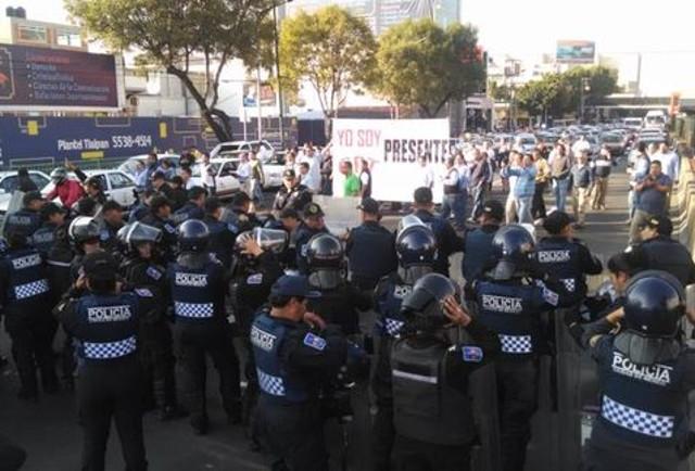 hoy no circula taxistas tlalpan manifestación
