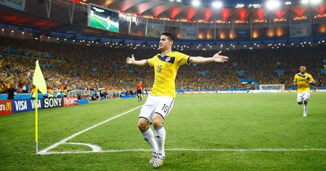 james gol uruguay