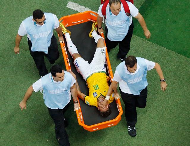 neymar lesion