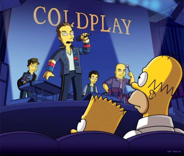 coldplaysimpsons