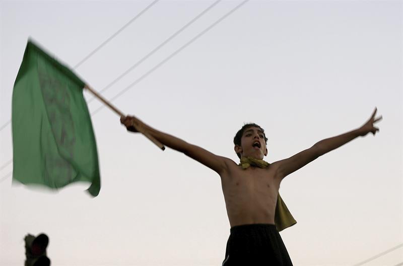 gaza celebracion
