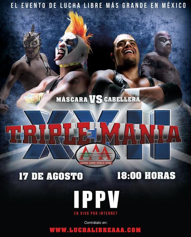 triplemania XXII